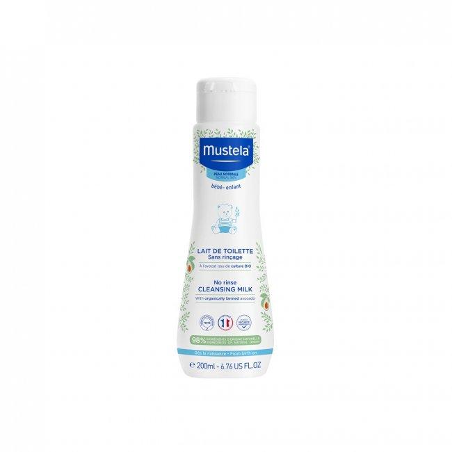 Mustela Baby Cleansing Milk Face&Diaper Area 200ml