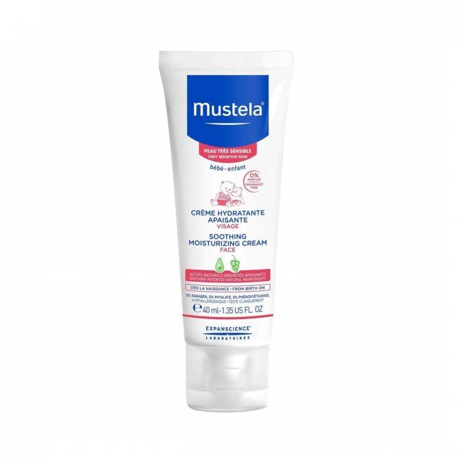 Mustela Baby Sensitive Skin Soothing Moisturizing Cream 40ml
