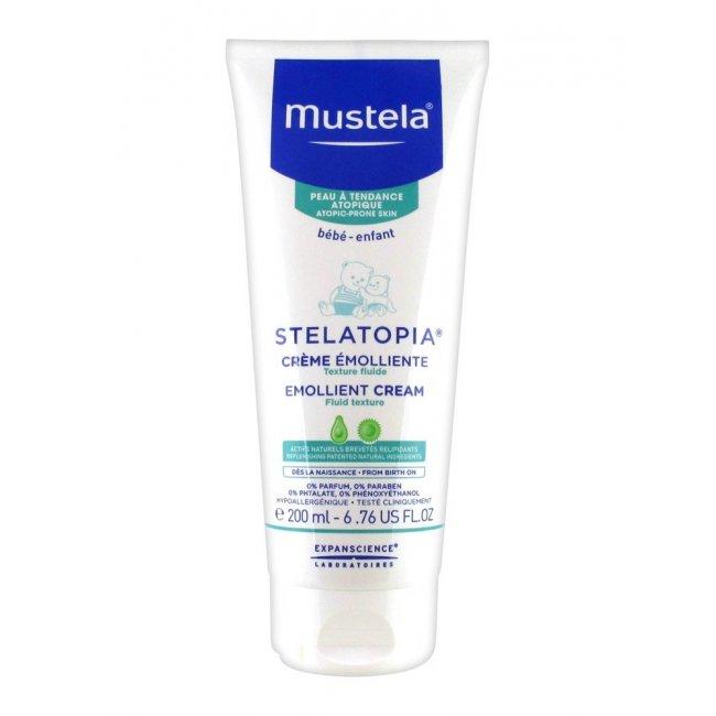 Mustela Stelatopia Dry&Atopic Skin Emollient Cream 200ml