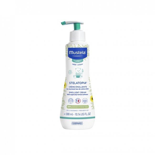Mustela Stelatopia Dry&Atopic Skin Emollient Cream 300ml