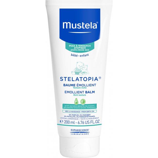 Mustela Stelatopia Dry&Atopic Skin Emollient Balm 200ml