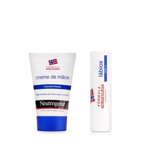 PROMOTIONAL PACK: Neutrogena Concentrated Hand Cream 50ml + Lipstick 4.8g