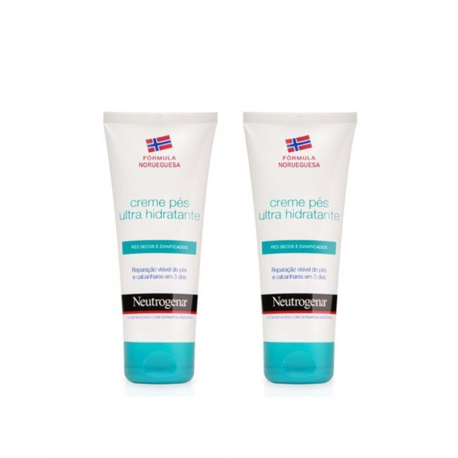 PROMOTIONAL PACK: Neutrogena Nourishing Foot Cream 100mlx2