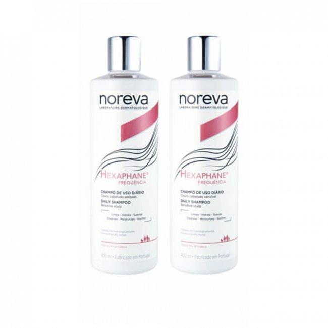 PROMOTIONAL PACK: Noreva Hexaphane Daily Shampoo Sensitive 2x400ml