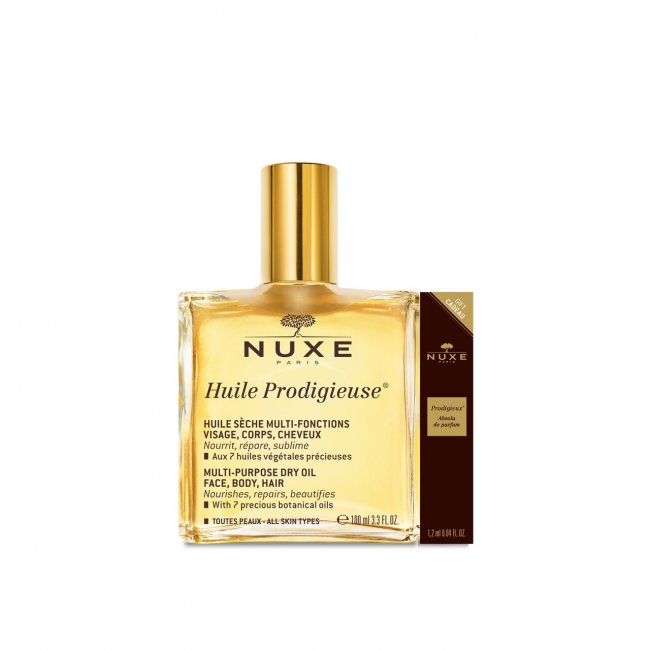 nuxe olja användning