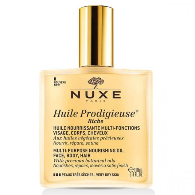 NUXE Huile Prodigieuse Rich Nourishing Oil with Spray 100ml