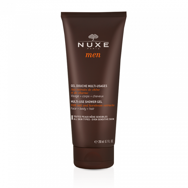 NUXE Men Multi-Use Shower Gel Hair&Body 200ml