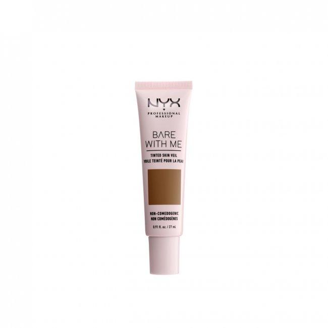 NYX Pro Makeup Bare With Me Tinted Skin Veil Deep Sable 27ml