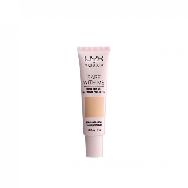 NYX Pro Makeup Bare With Me Tinted Skin Veil Natural Soft Beige 27ml