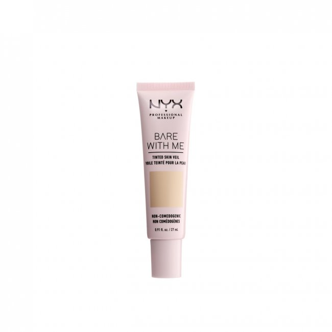 NYX Pro Makeup Bare With Me Tinted Skin Veil Vanilla Nude 27ml
