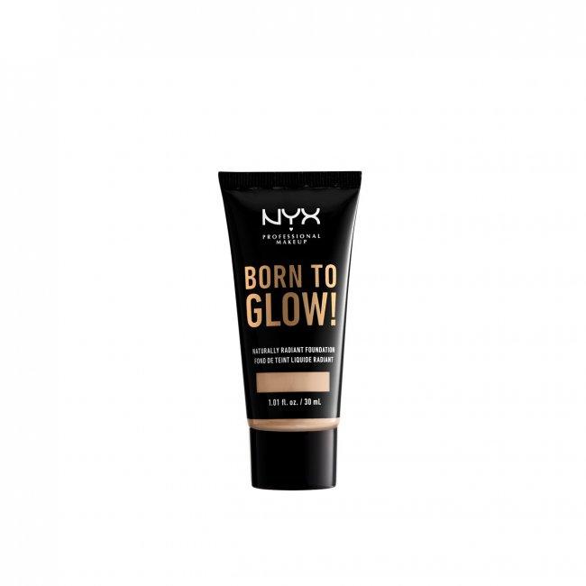 NYX Pro Makeup Born To Glow Radiant Foundation Alabaster 30ml