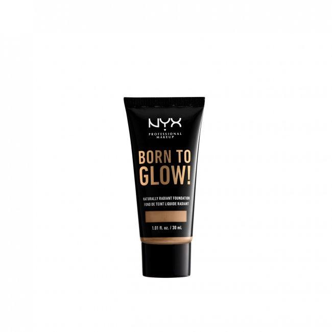 NYX Pro Makeup Born To Glow Radiant Foundation Caramel 30ml