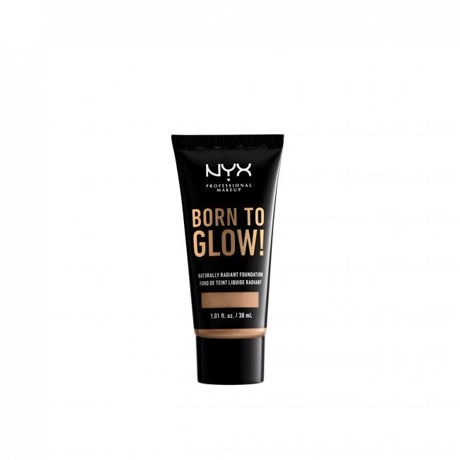 NYX Pro Makeup Born To Glow Radiant Foundation Classic Tan 30ml