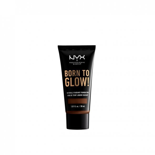 NYX Pro Makeup Born To Glow Radiant Foundation Deep Walnut 30ml