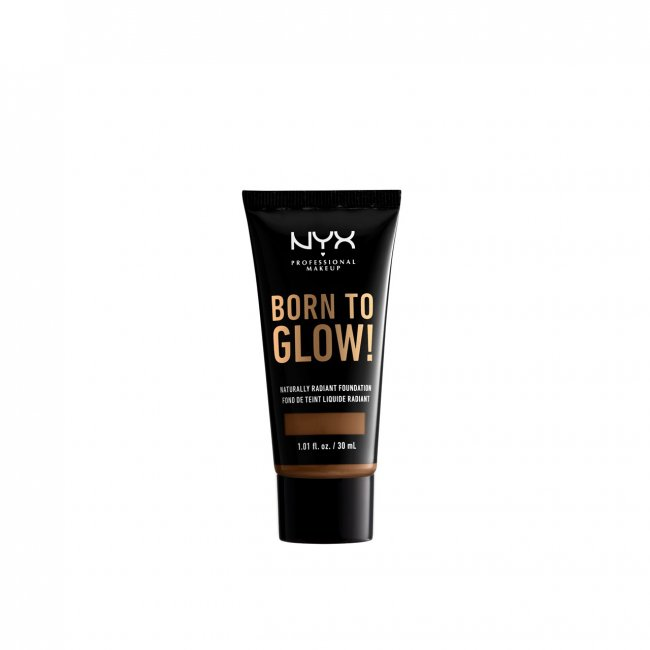 NYX Pro Makeup Born To Glow Radiant Foundation Mocha 30ml
