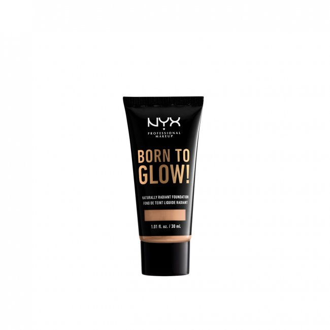 NYX Pro Makeup Born To Glow Radiant Foundation Natural 30ml