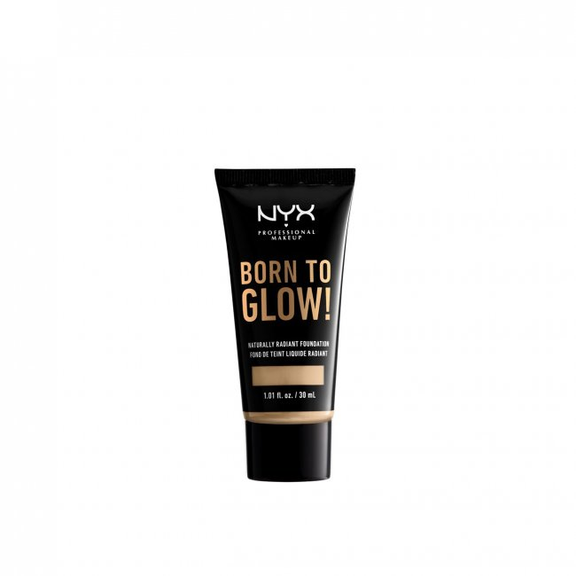NYX Pro Makeup Born To Glow Radiant Foundation Nude 30ml