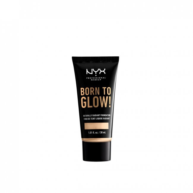 NYX Pro Makeup Born To Glow Radiant Foundation Pale 30ml