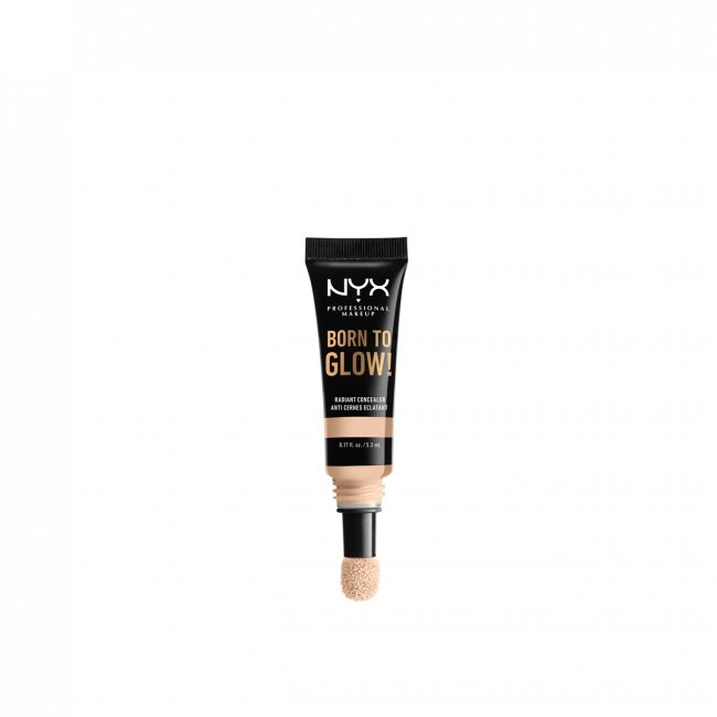 NYX Pro Makeup Born To Glow Radiant Concealer Light Ivory 5.3ml