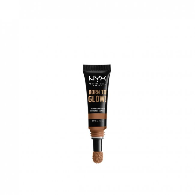 NYX Pro Makeup Born To Glow Radiant Concealer Mahogany 5.3ml