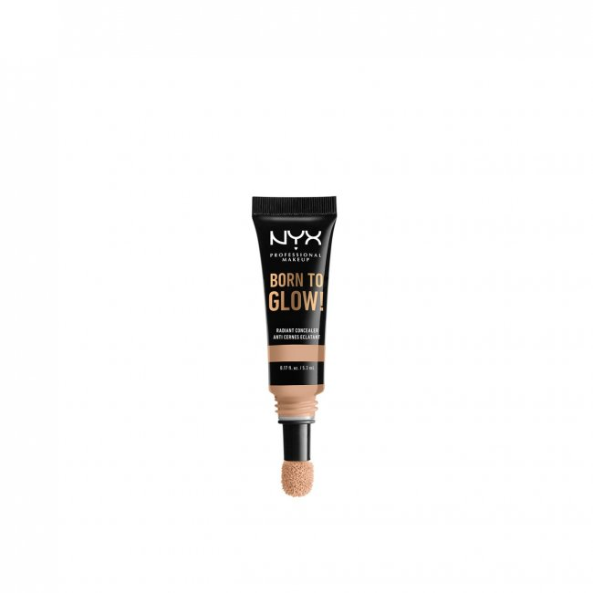 NYX Pro Makeup Born To Glow Radiant Concealer Natural 5.3ml