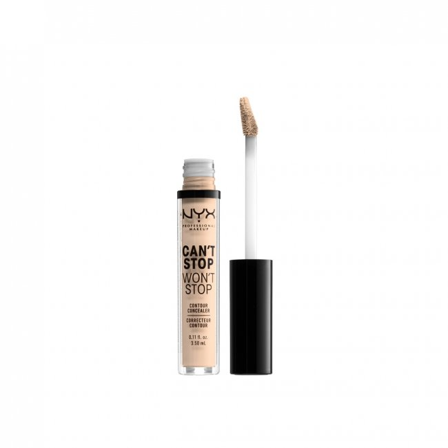 NYX Pro Makeup Can't Stop Won't Stop Concealer Light Ivory 3.5ml