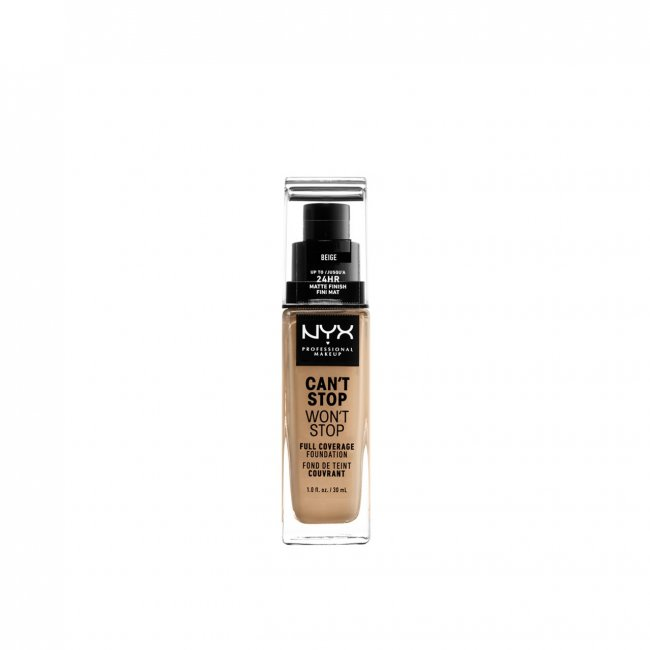 NYX Pro Makeup Can't Stop Won't Stop Foundation Beige 30ml