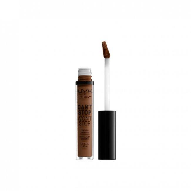 NYX Pro Makeup Can't Stop Won't Stop Concealer Mocha 3.5ml