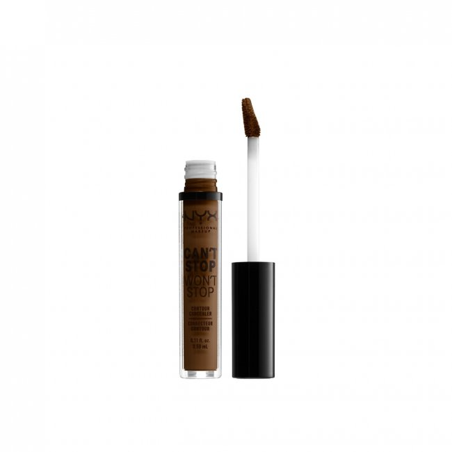 NYX Pro Makeup Can't Stop Won't Stop Concealer Walnut 3.5ml