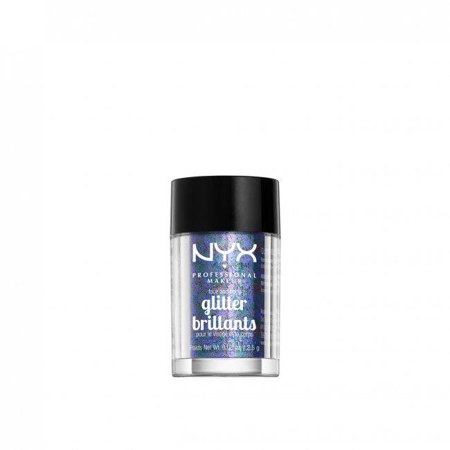 NYX Pro Makeup Face & Body Glitter Violet 2.5g