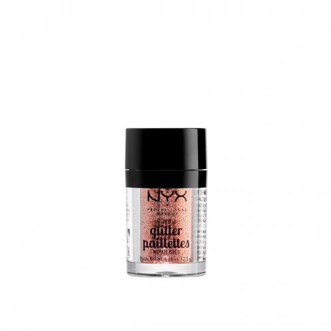 NYX Pro Makeup Metallic Glitter Dubai Bronze 2.5g