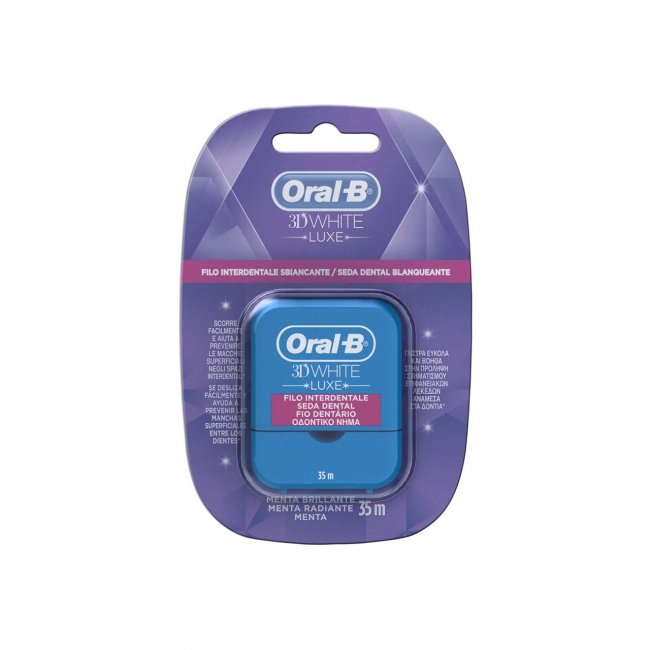 Oral-B 3D White Luxe Dental Floss 35m