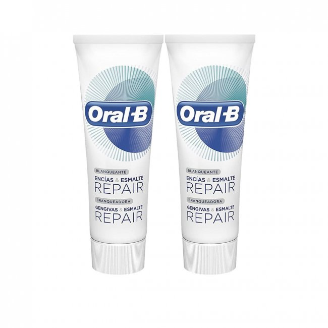 PACK PROMOCIONAL: Oral-B Gum & Enamel Repair Whitening Toothpaste 2x100ml