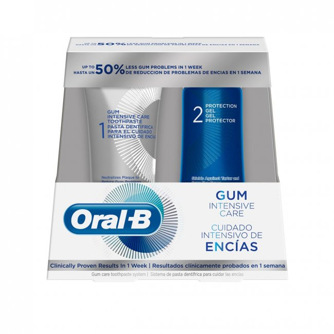 PROMOTIONAL PACK: Oral-B Gum Intensive Care Toothpaste 85ml + Protection Gel 63ml
