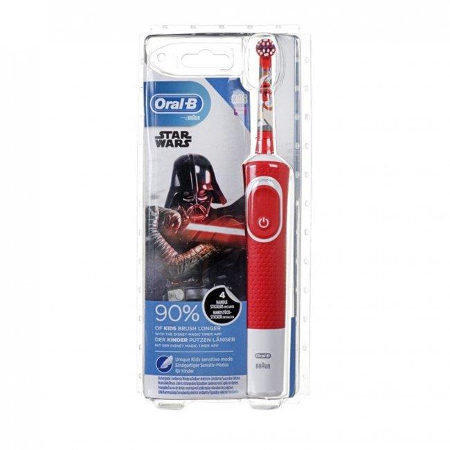 Oral-B Kids 3+ Years Electric Toothbrush Star Wars