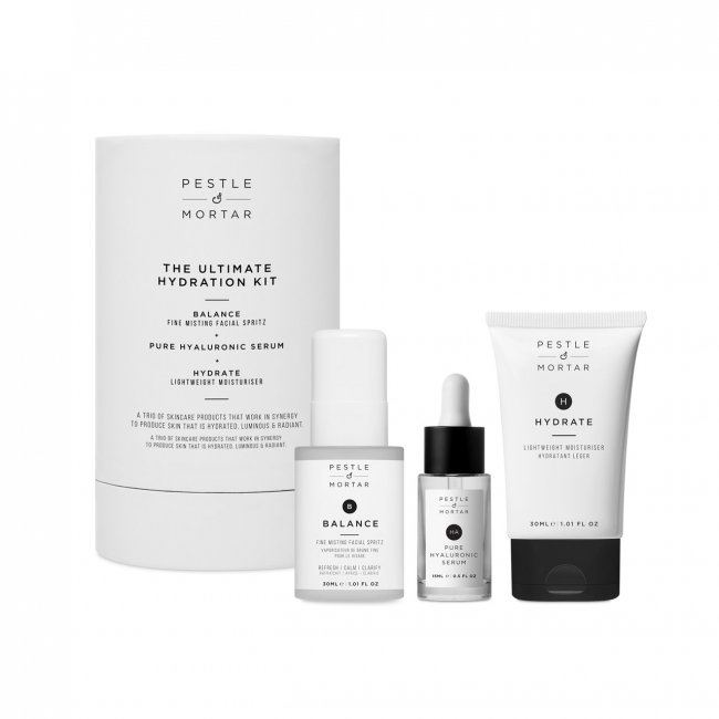 COFFRET: Pestle & Mortar Ultimate Hydration Kit
