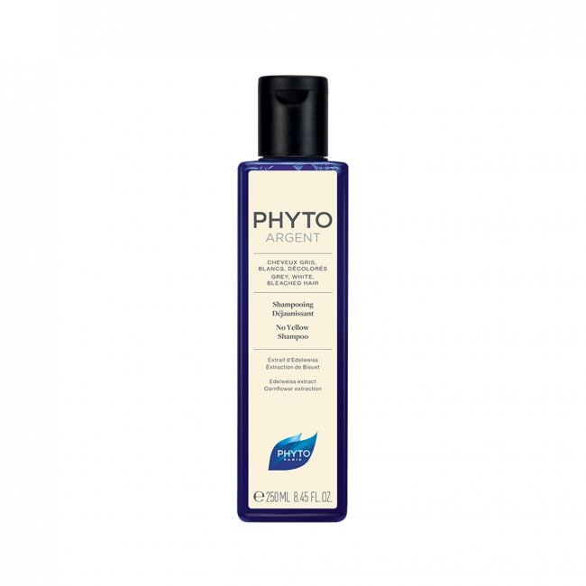 PhytoArgent No Yellow Shampoo Shampoo 250ml