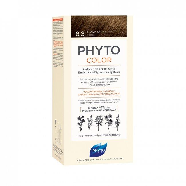 Phytocolor Permanent Color Shade 6.3 Dark Golden Blonde