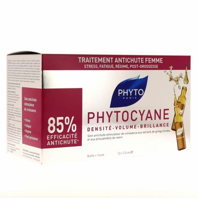 Phytocyane Revitalizing Serum for Thinning Hair 12x7.5ml