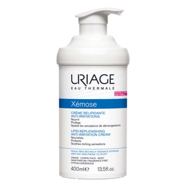 Uriage Xémose Lipid-Replenishing Anti-Irritation Cream 400ml