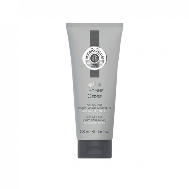 Roger&Gallet L'Homme Cèdre Shower Gel 200ml