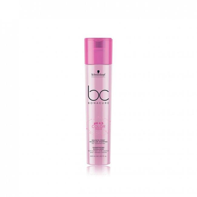 Schwarzkopf BC pH 4.5 Color Freeze Micellar Shampoo Sulfate-Free 250ml