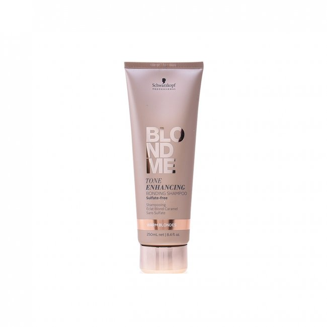 Schwarzkopf BLONDME Tone Enhancing Warm Blondes Bonding Shampoo 250ml