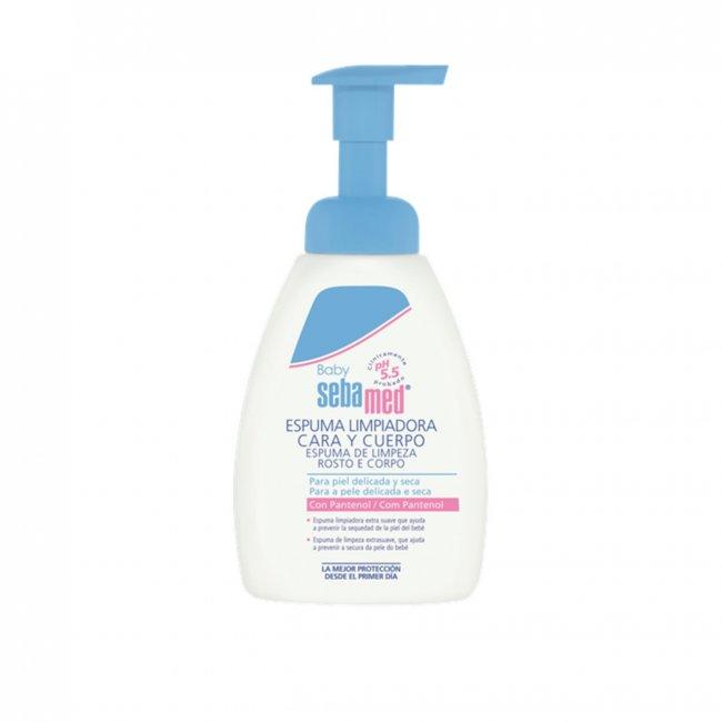 Sebamed Baby Face & Body Wash Foam 400ml
