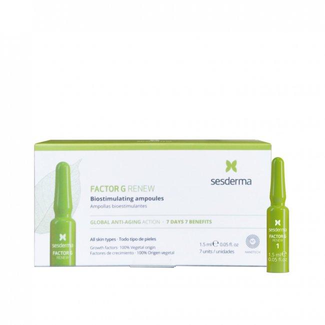 Sesderma Factor G Renew Biostimulating Ampoules 7x1.5ml
