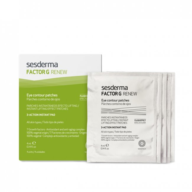 Sesderma Factor G Renew Eye Contour Patches 4x4ml