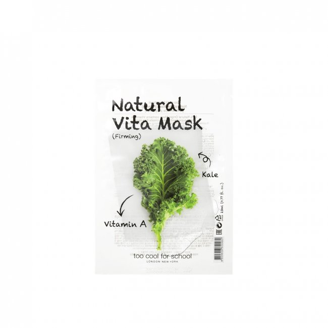 Too Cool For School Natural Vita Firming Mask 23ml