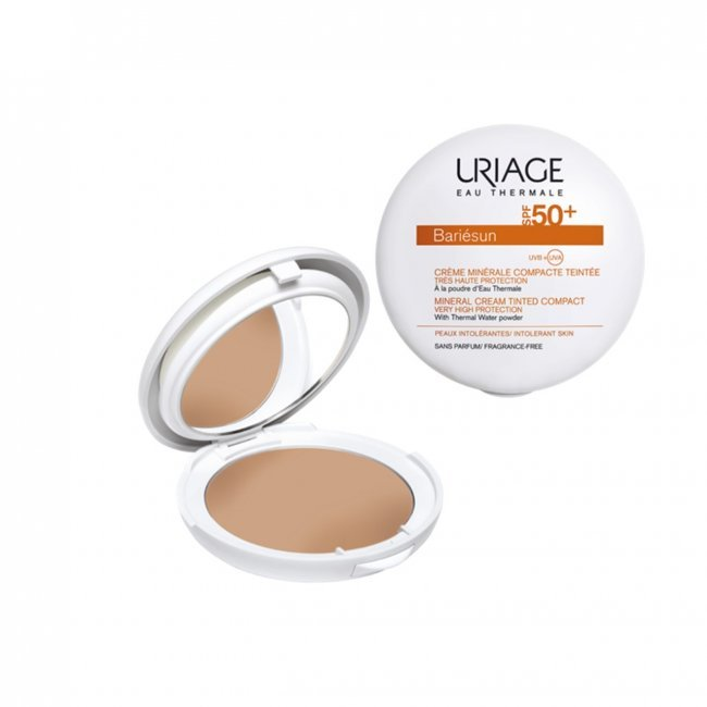 zonnecrème gezicht uriage make-up