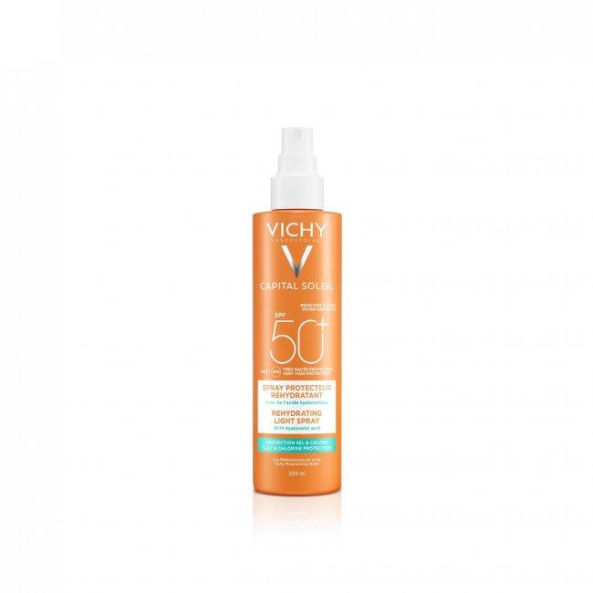 Vichy Capital Soleil Rehydrating Light Spray SPF50+ 200ml