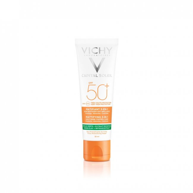 Vichy Capital Soleil Mattifying 3-in-1 Cream SPF50+ 50ml
